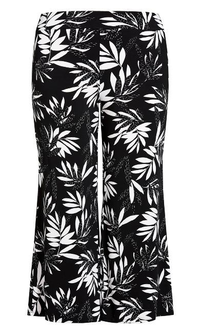 Paola Knit Pant - mono palm