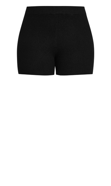 Luxe Knit Short - black