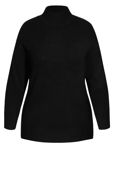 Luxe Lounge Jumper - black