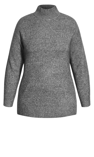Luxe Lounge Jumper - steel