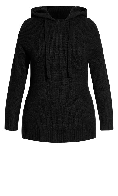 Chillax Jumper - black