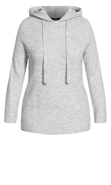Chillax Jumper - grey marle