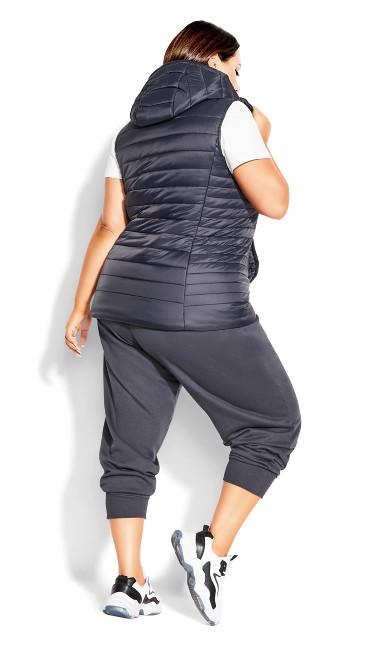 Rookie Puffer Vest - graphite