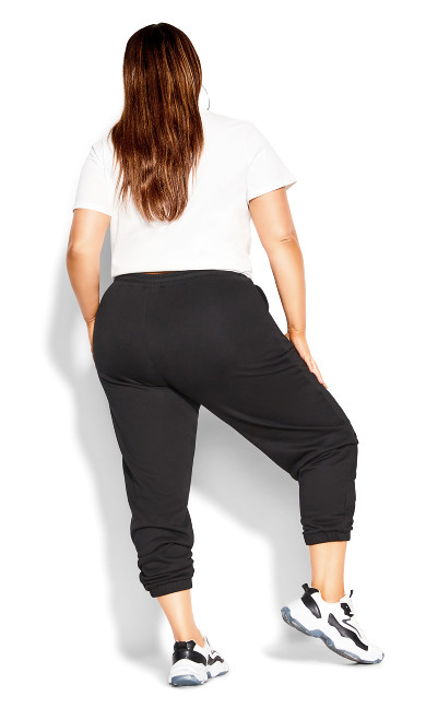 Rookie Relaxed Pant - black