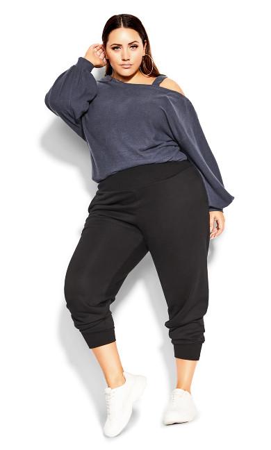 Rookie Lounger Pant - black