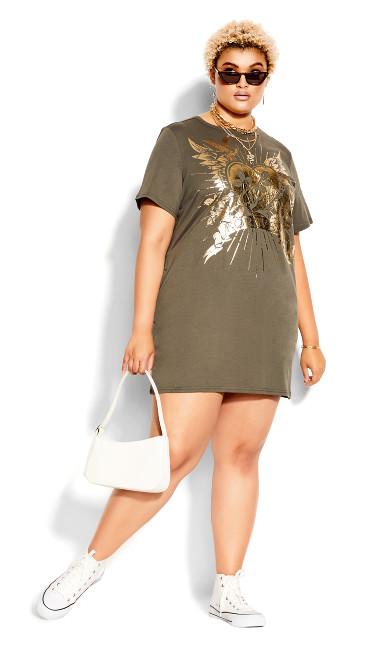 Forever Dress - khaki