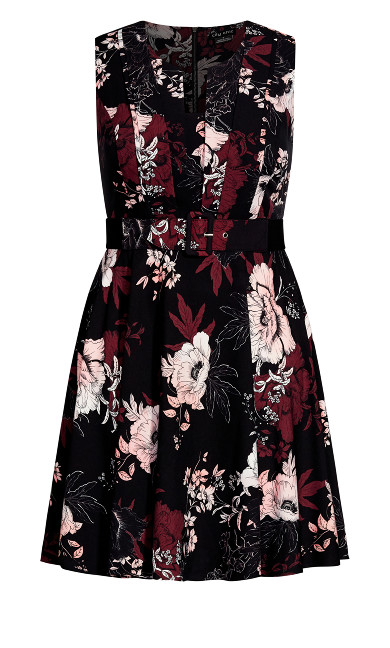 Enchanted Dress - black