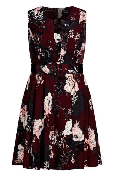 Enchanted Dress - bordeaux