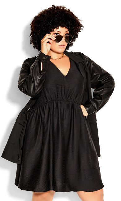 Urban Child Dress - black