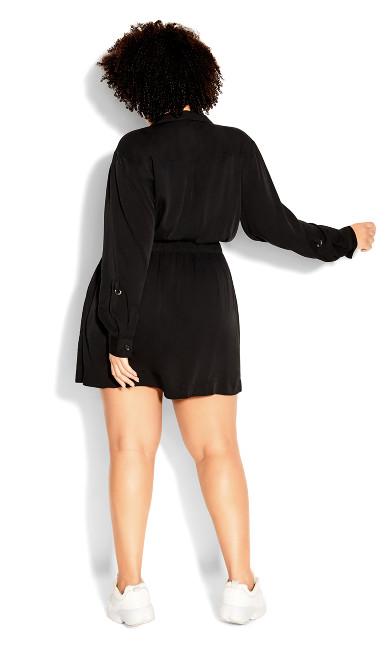 Urban D Ring Dress - black