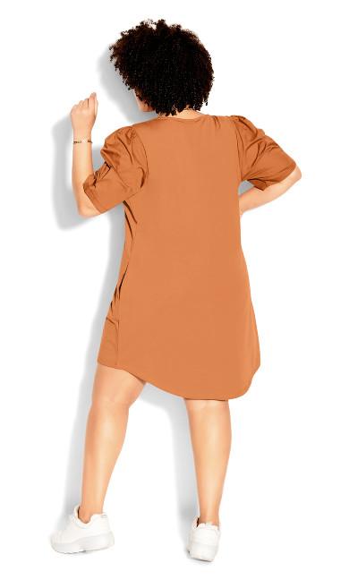 City Seeker Dress - tawny