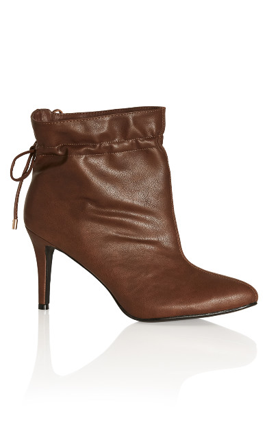Paloma Ankle Boot - chocolate
