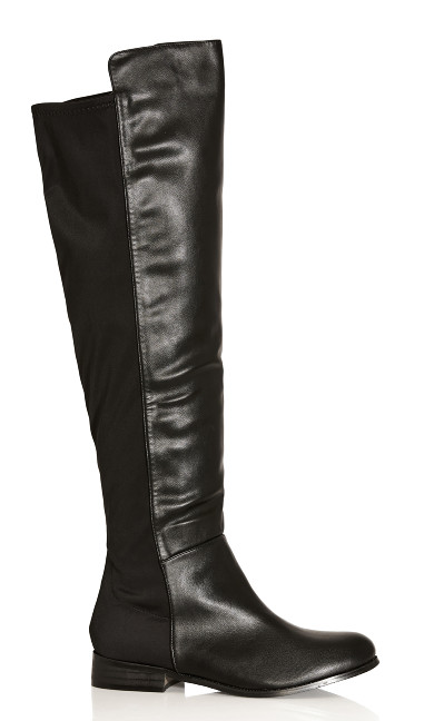 Calista Knee Boot - black