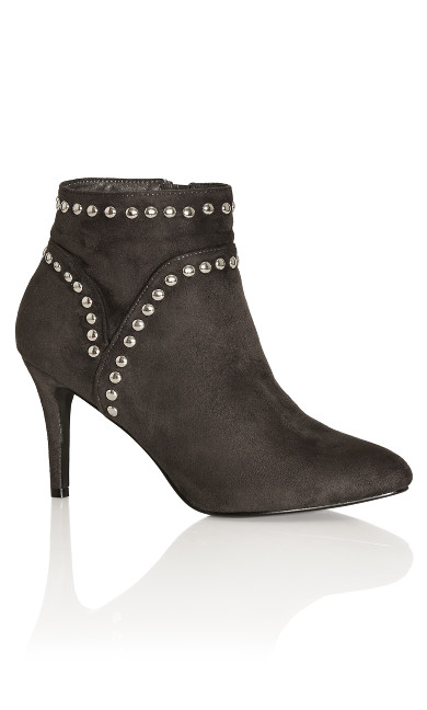 Rae Ankle Boot - gunmetal