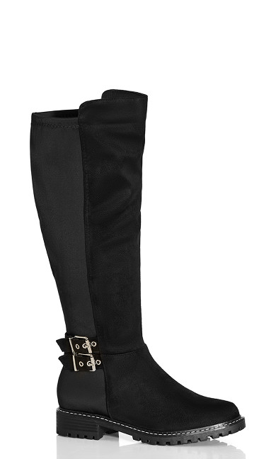 Samara Knee Boot - black