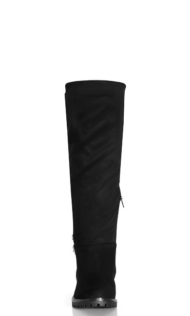 Samara Knee Boot - blueberry