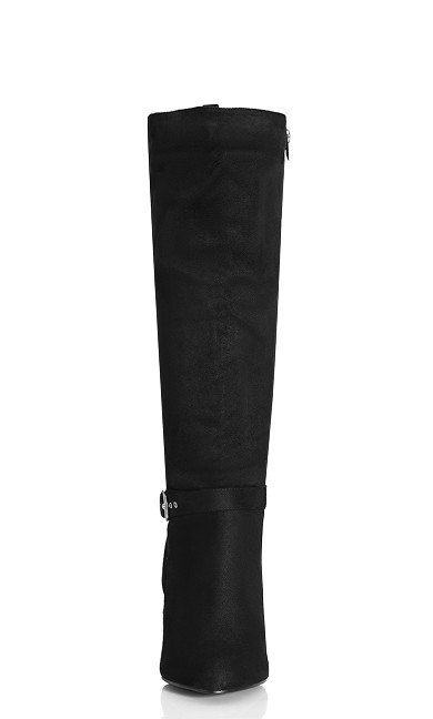 Tara Knee Boot - black