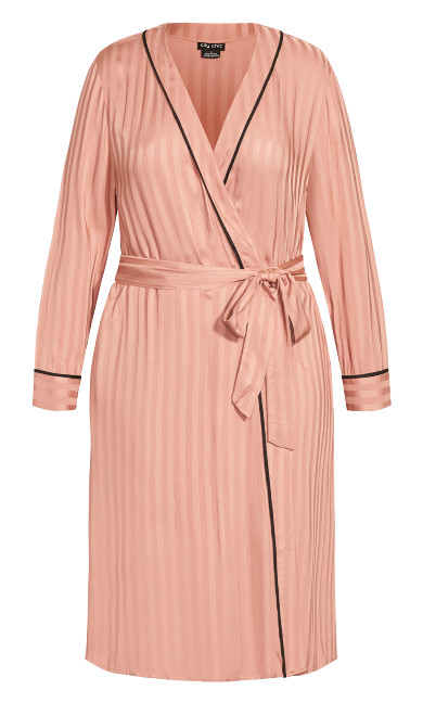 Mia Robe - dusty pink