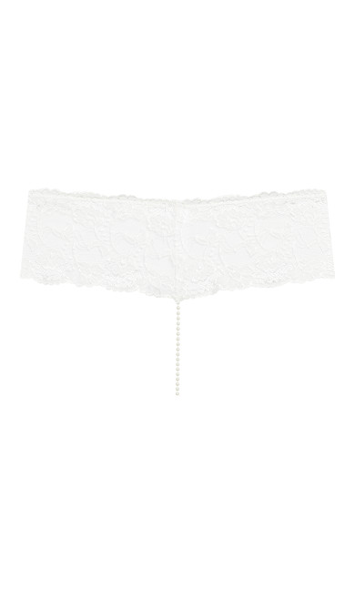Pearl Thong - ivory