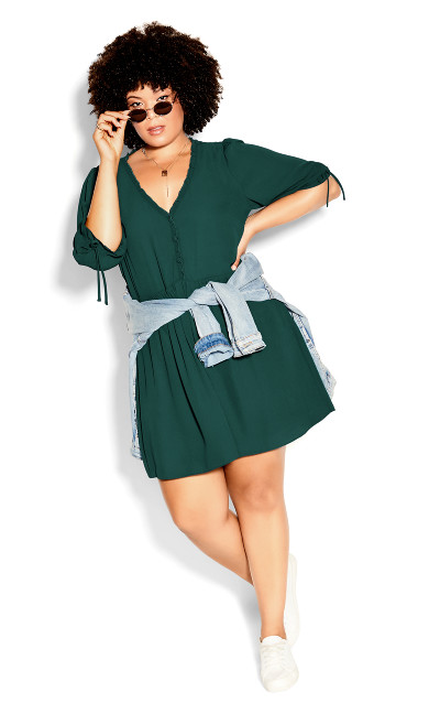 Dreamer Dress - jade