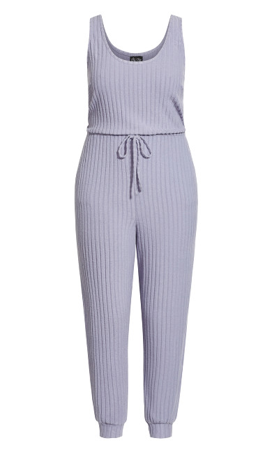 Ella Jumpsuit - dusty blue