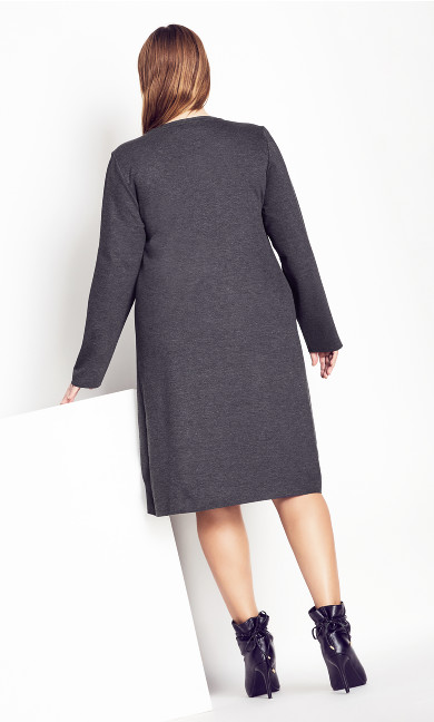 Double Layer Dress - platinum