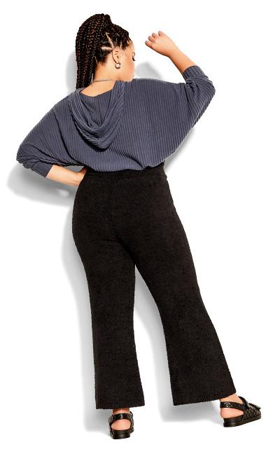 Fluffy Pant - black