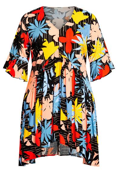 Valencia Mini Dress - multi floral