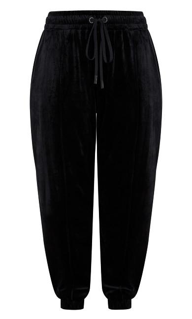 Velour Pant - black