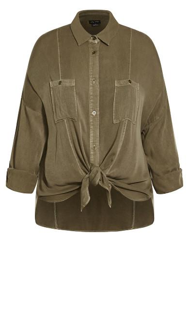 Winter Lust Shirt - khaki