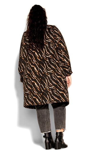 Animal Lust Coat - black