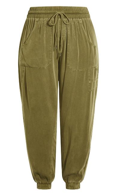 Cosy Pockets Pant - khaki