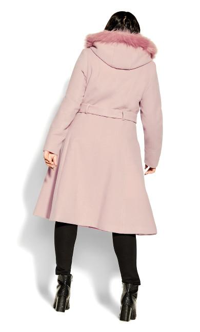 Miss Mysterious Coat - blush