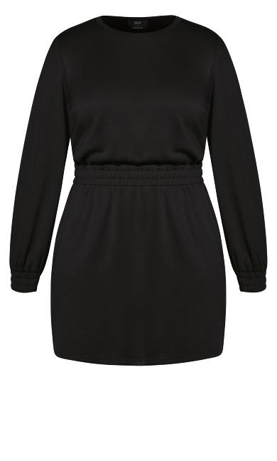 Lounger Dress - black