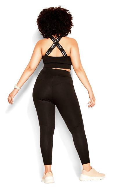 Punch It 7/8 Legging - black