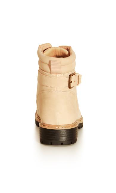 Sasha Ankle Boot - dusty nude