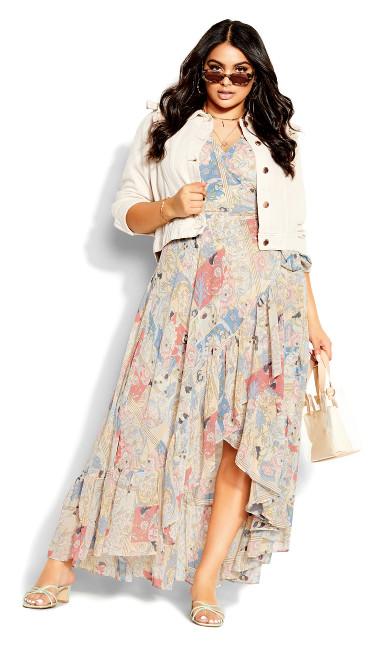 Nouveau Maxi Dress - rose