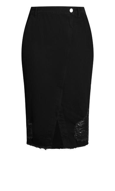 Star Crossed Skirt - black wash