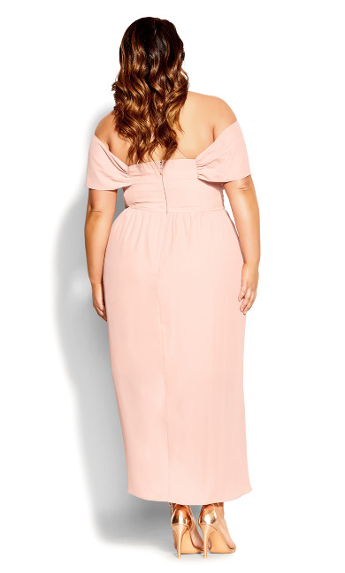 Entwine Maxi Dress - ballet pink