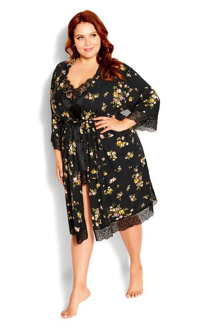 Daisy Meadow Robe