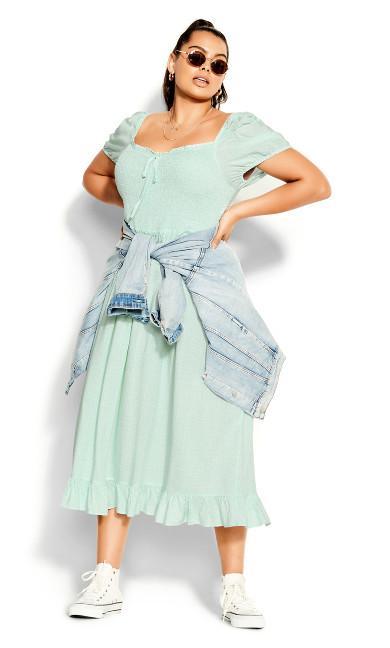 Sweet Alice Maxi Dress - mint