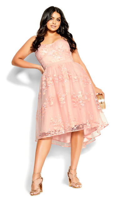 Ambrosia Dress - ballet pink