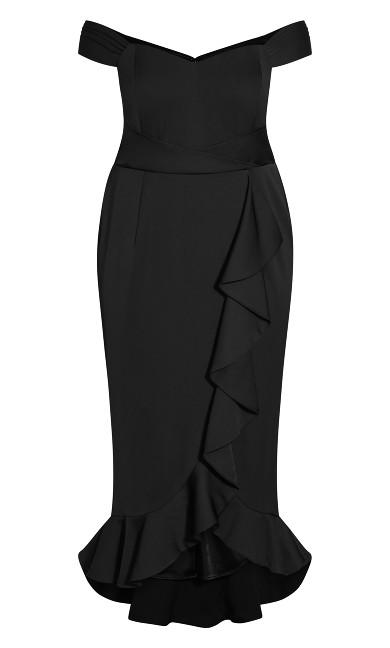 Hypnotise Dress - black