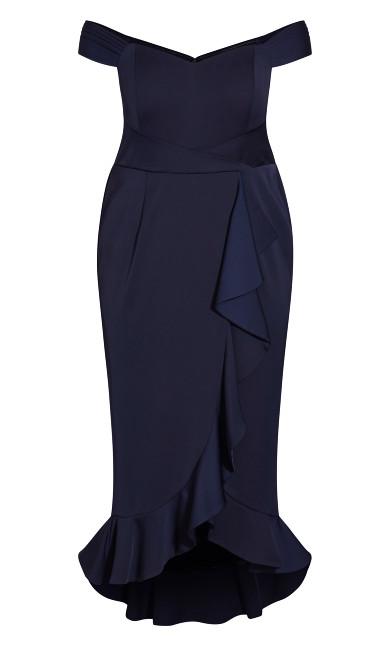 Hypnotise Dress - dark navy