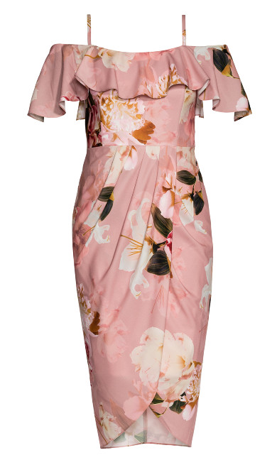 English Rose Dress - rose