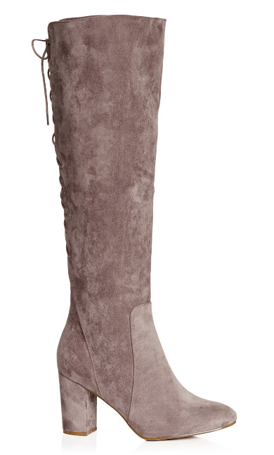 Perry Knee High Boot - mushroom