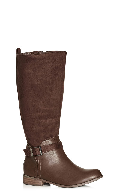 Micah Knee Boot - chocolate