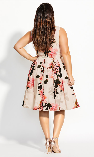 Soft Blossom Dress - pink