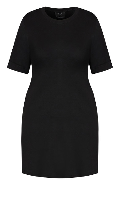 Casual Daze Tunic - black