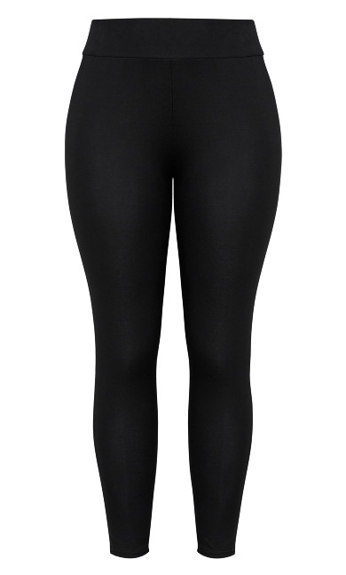 Full Length Wide Band Legging - black
